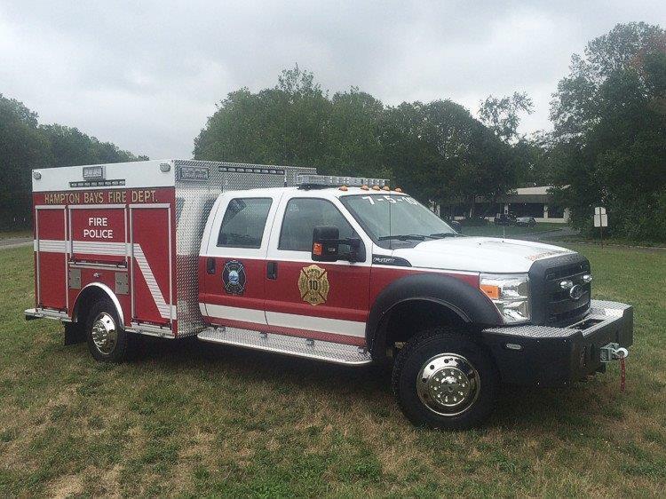 Hampton Bays NY Fire Police 1