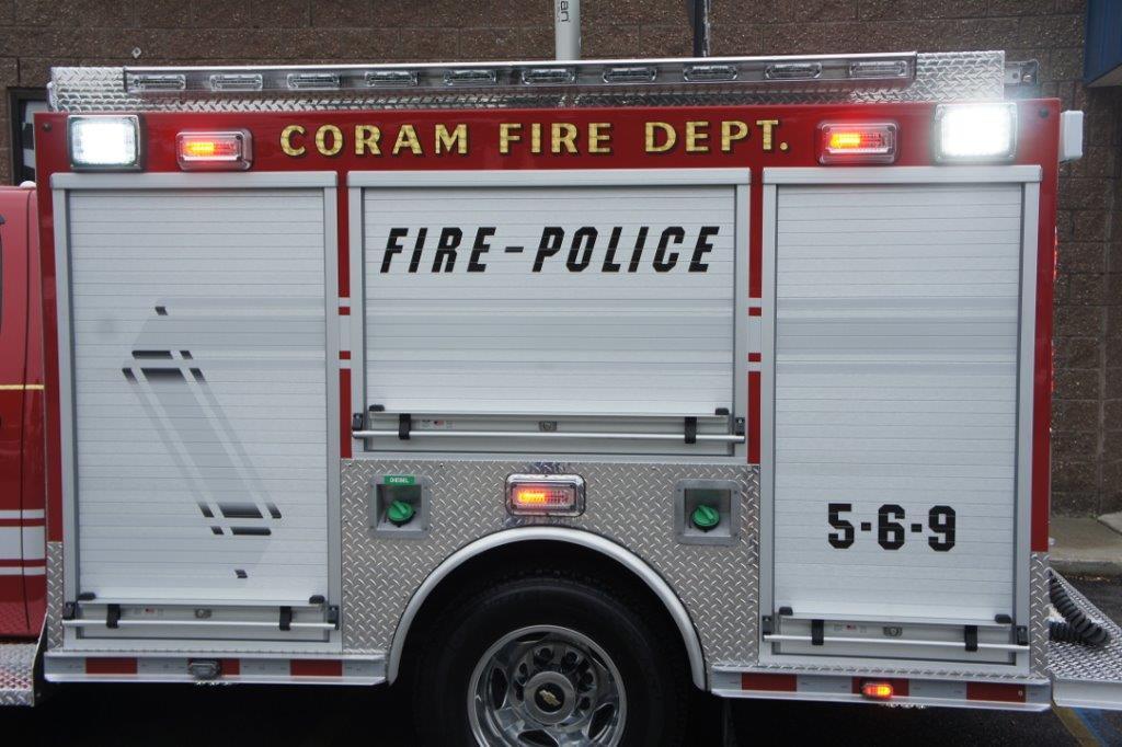 Coram Fire Police NY  5-6-9   5