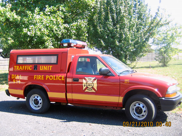 Indian Mills Volunteer Fire Company Shamong Township NJ Fire Police Unit 2817