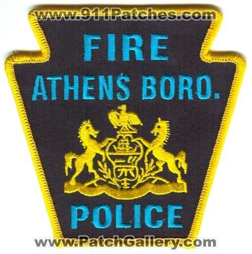 Athens Borough PA FIRE POLICE