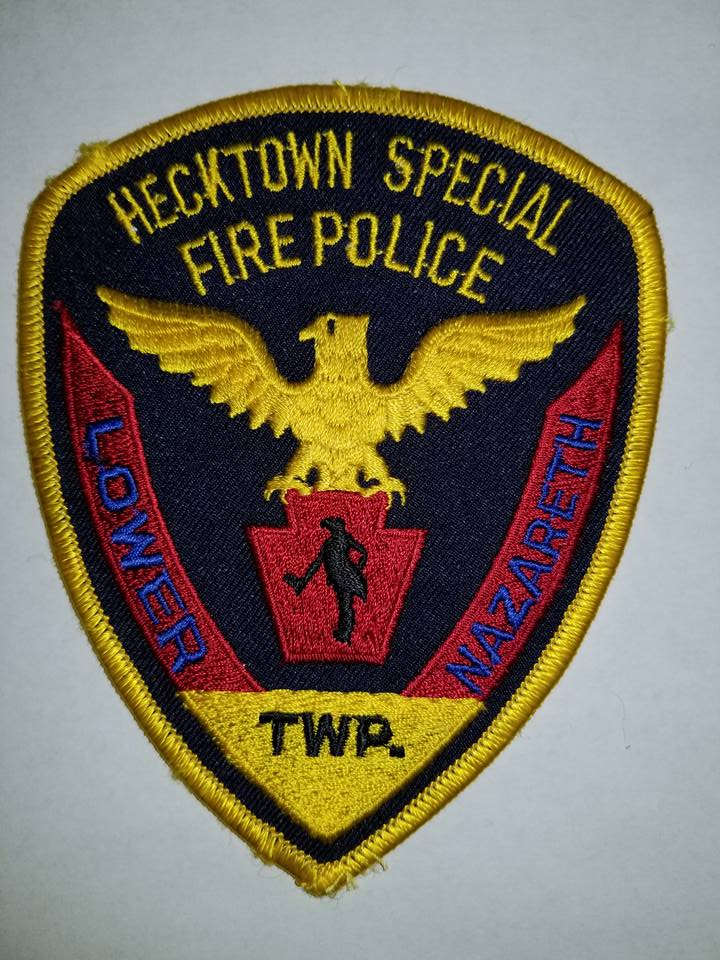Hecktown Lower Nazareth Township PA Special Fire Police