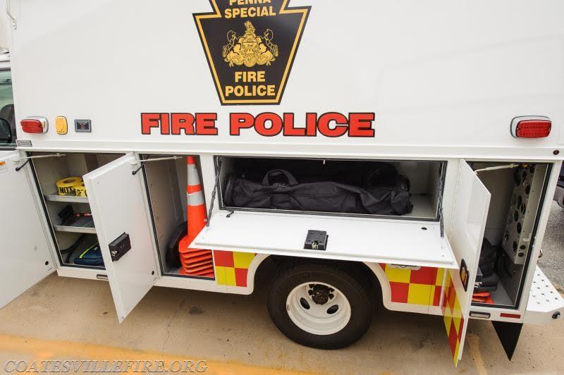 Coatesville Fire Police Traffic 41 2