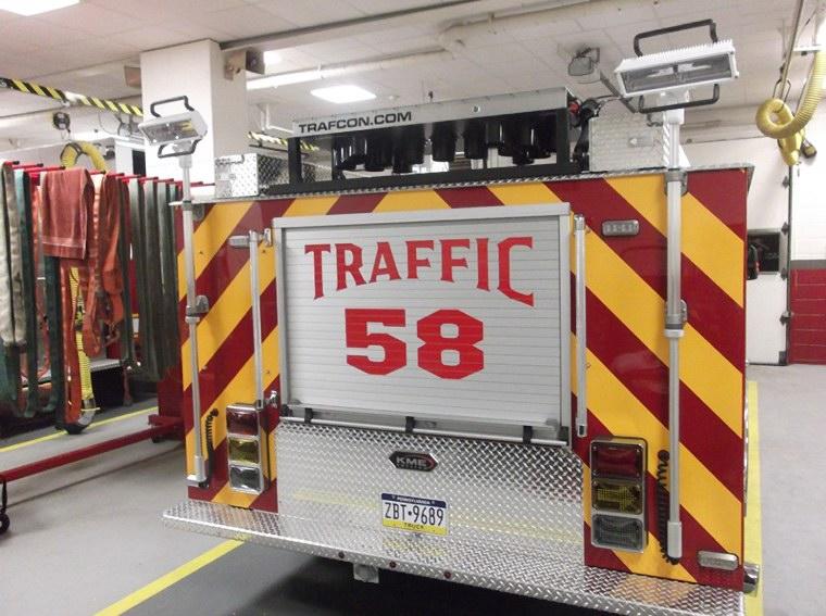 Sanatoga Fire Company - Montgomery County PA - Traffic 58 6