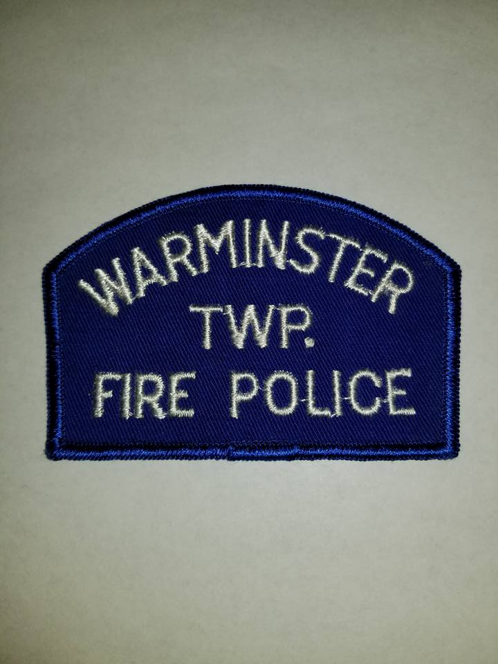 Warminster Township PA Fire Police 1