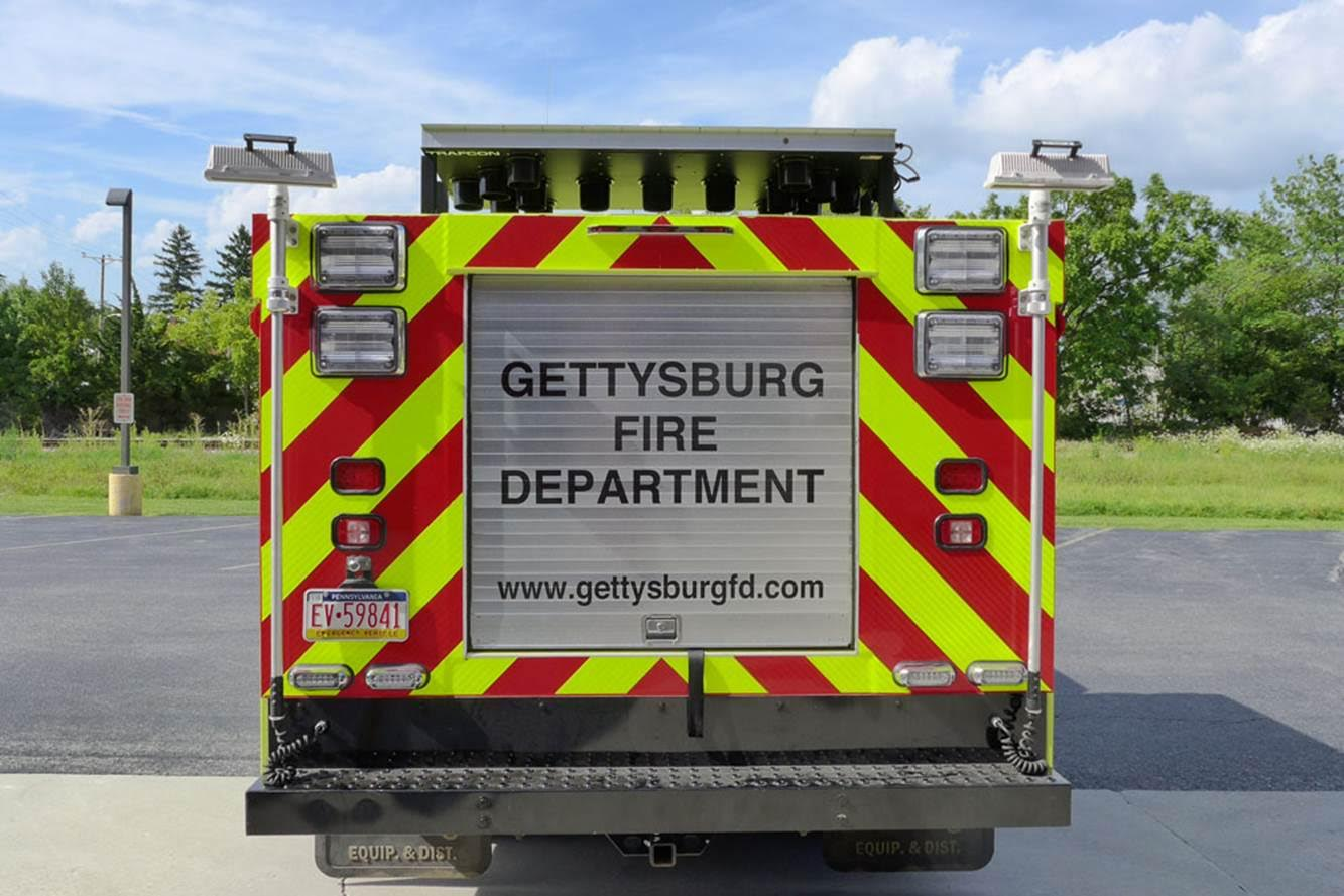 Gettysburg Fire Departement Traffic 1 3