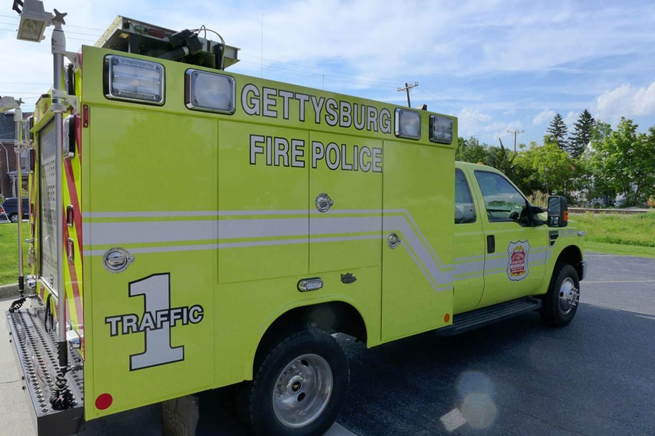 Gettysburg Fire Departement Traffic 1 5