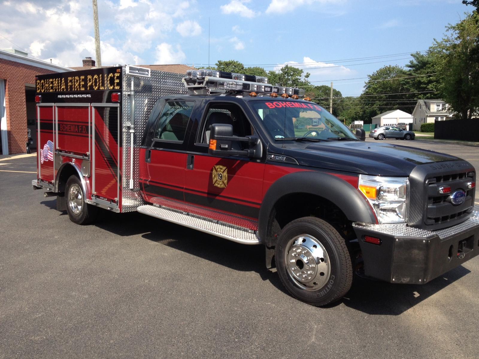 Bohemia NY Fire Police Brat 3-12-19