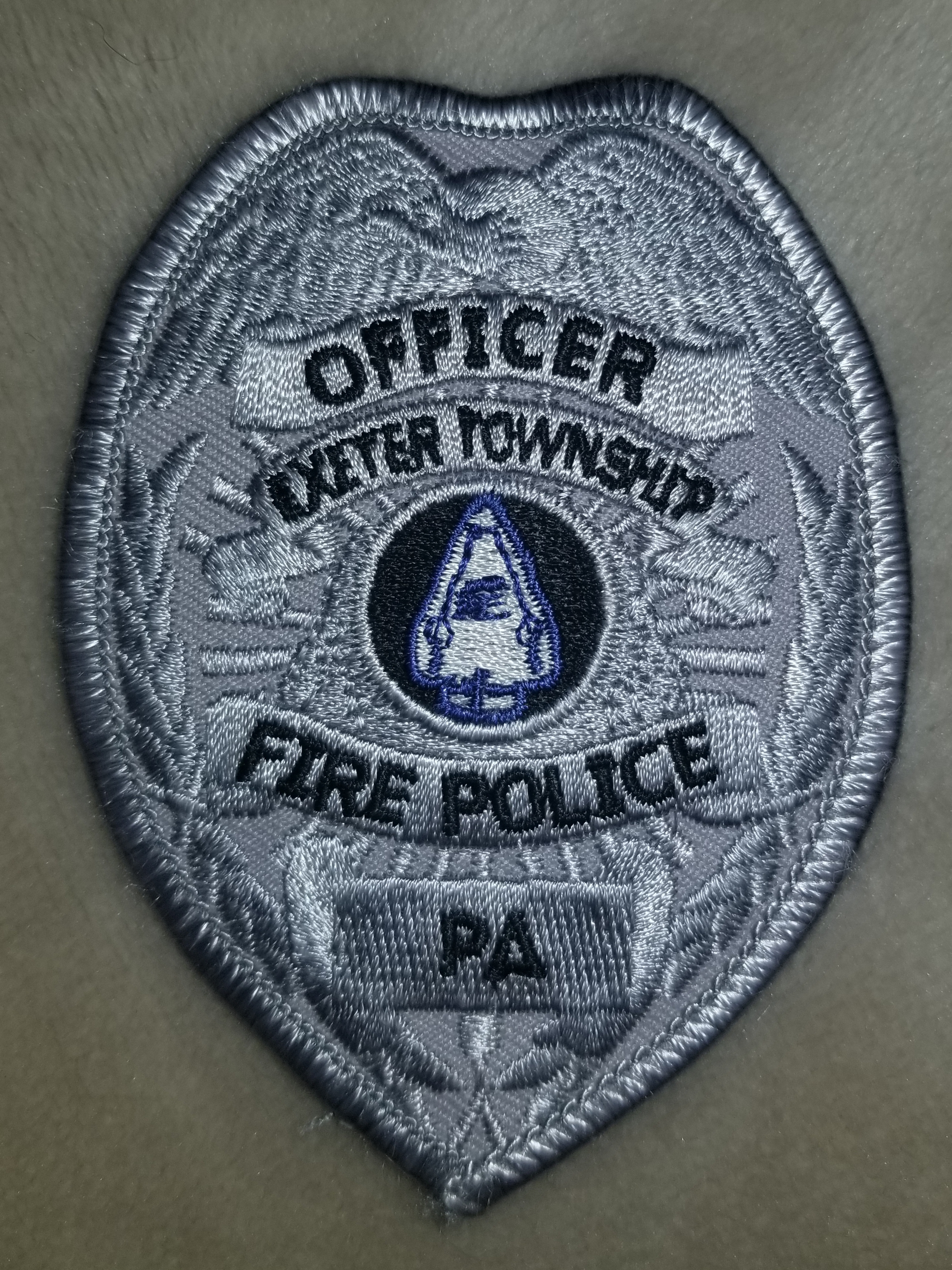 Exeter Township Fire Police Officer PA