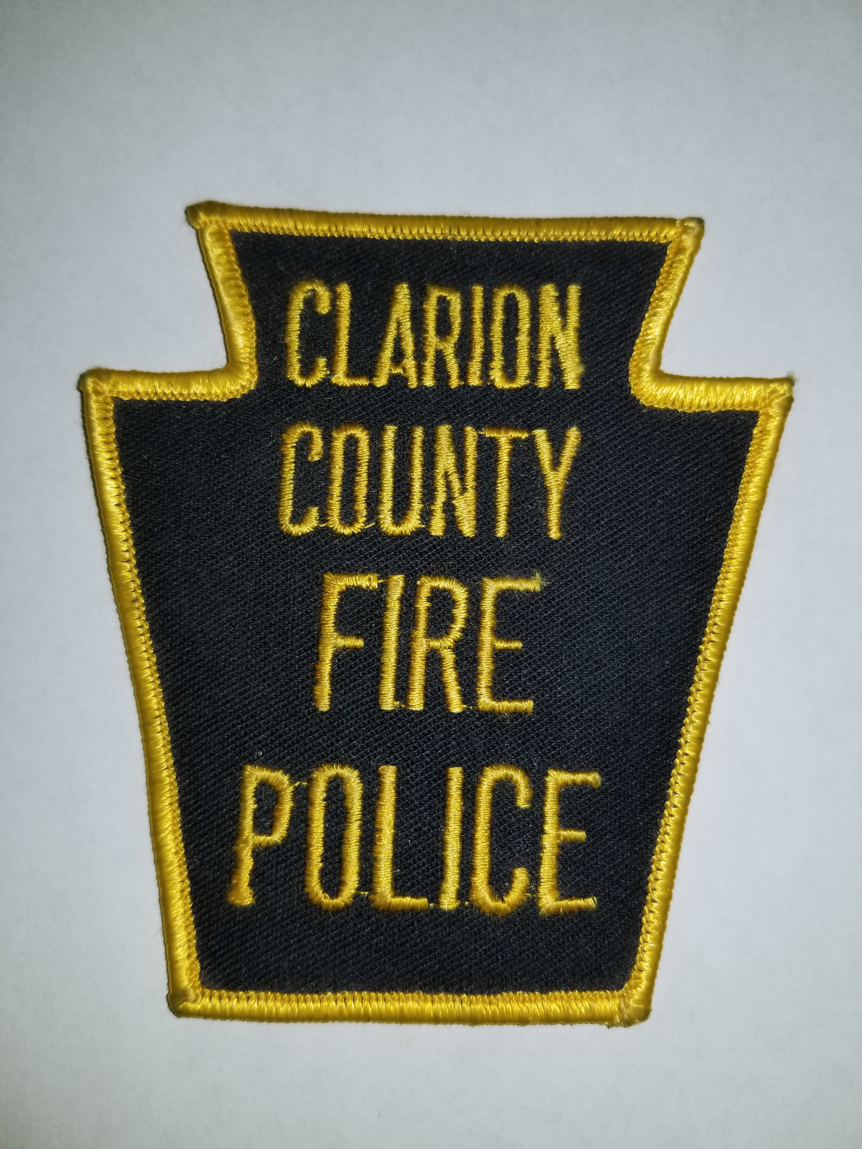 Clarion County PA Fire Police