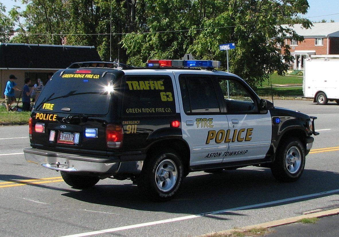 Green Ridge Fire Company Aston Twp PA Traffic 63
