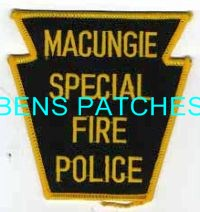 Macungie PA Special Fire Police