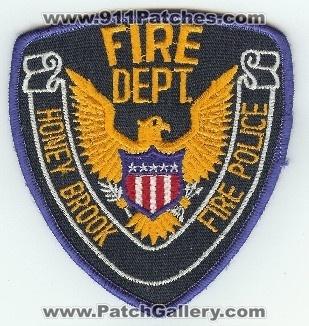 Honey Brook PA FIRE POLICE