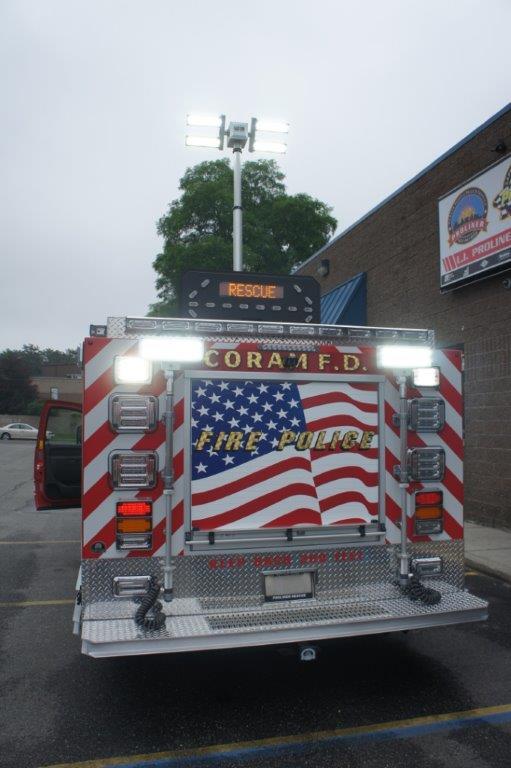 Coram Fire Police NY  5-6-9   2