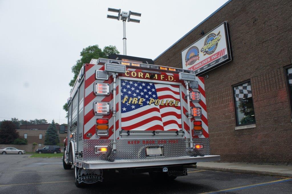 Coram Fire Police NY  5-6-9   3