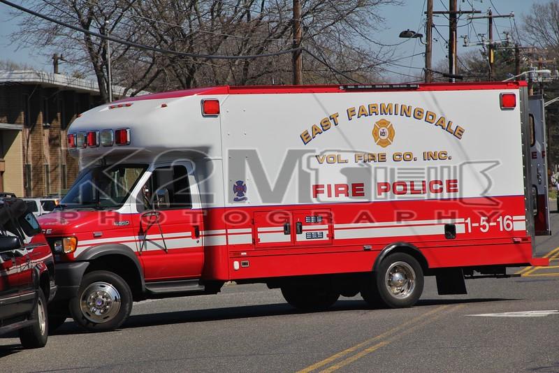 East Farmingdale Fire Co. NY Fire Police 1-5-16