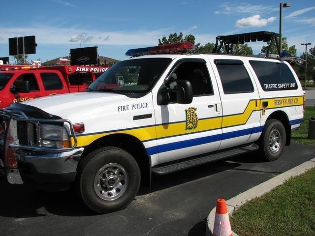 Berwyn Fire Company Chester County PA Traffic 2  2