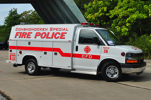 CONSHOHOCKEN Fire Co. PA Special Fire Police Traffic 36 2
