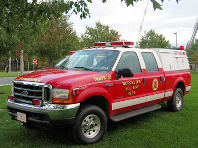 WORCESTER FIRE COMPANY - Traffic 83