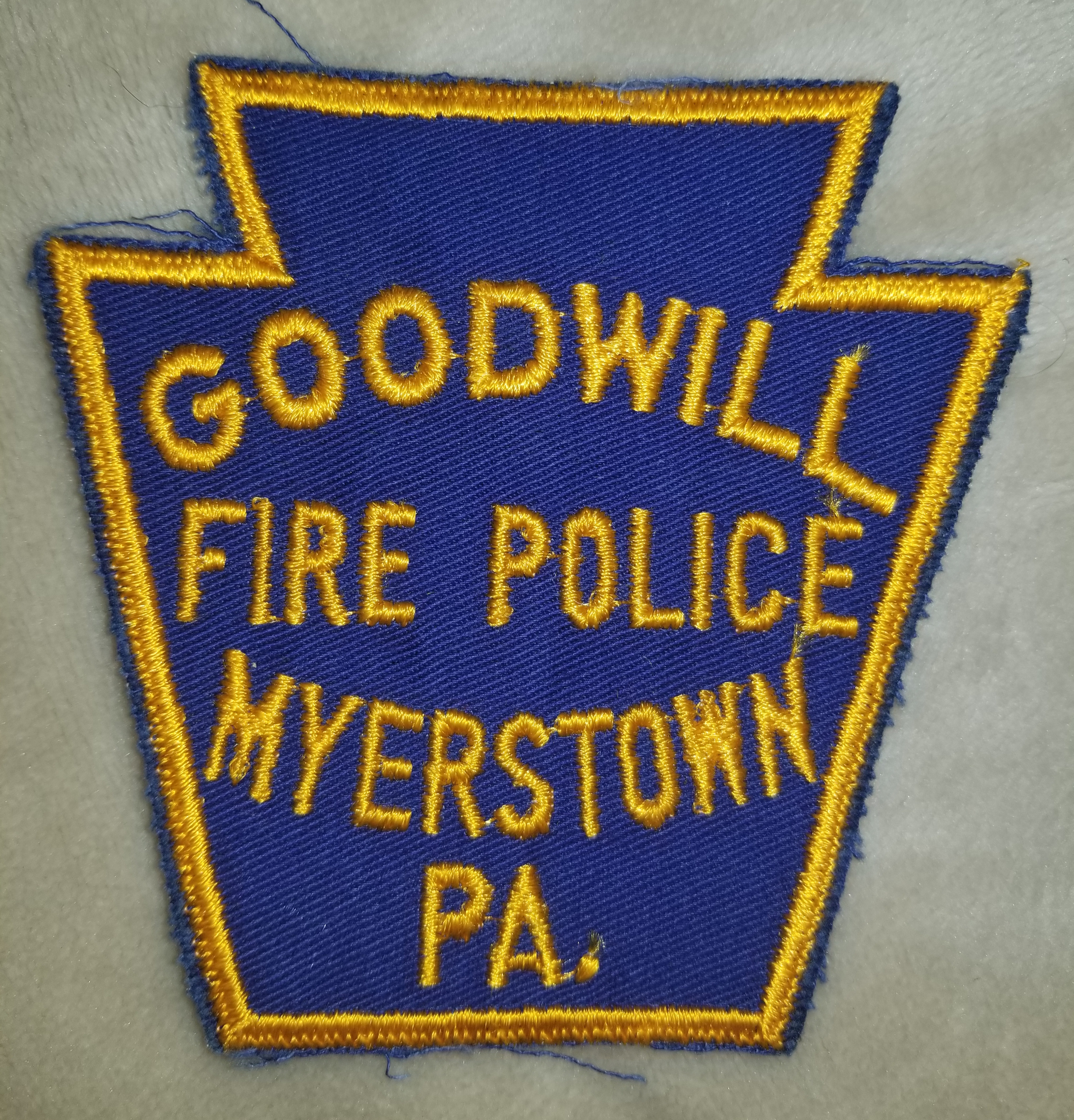 Goodwill Fire Police Myserstown PA