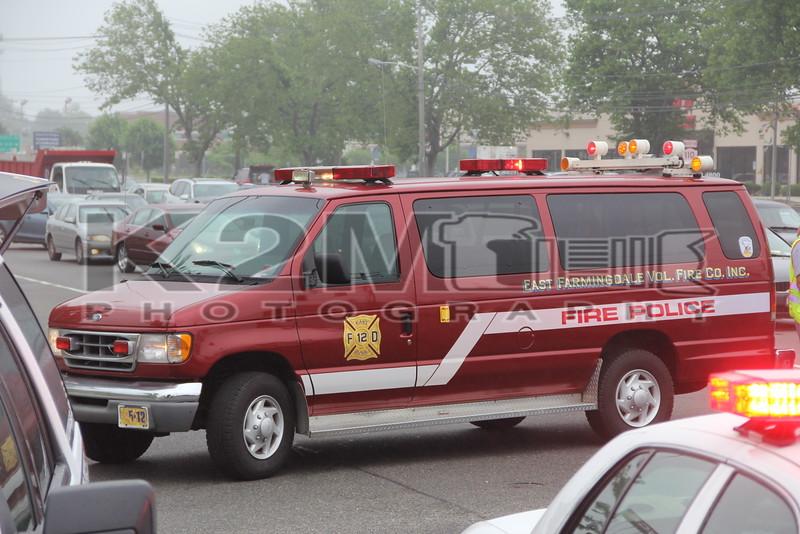 East Farmingdale Volunteer Fire Co. NY Fire Police 1-5-12