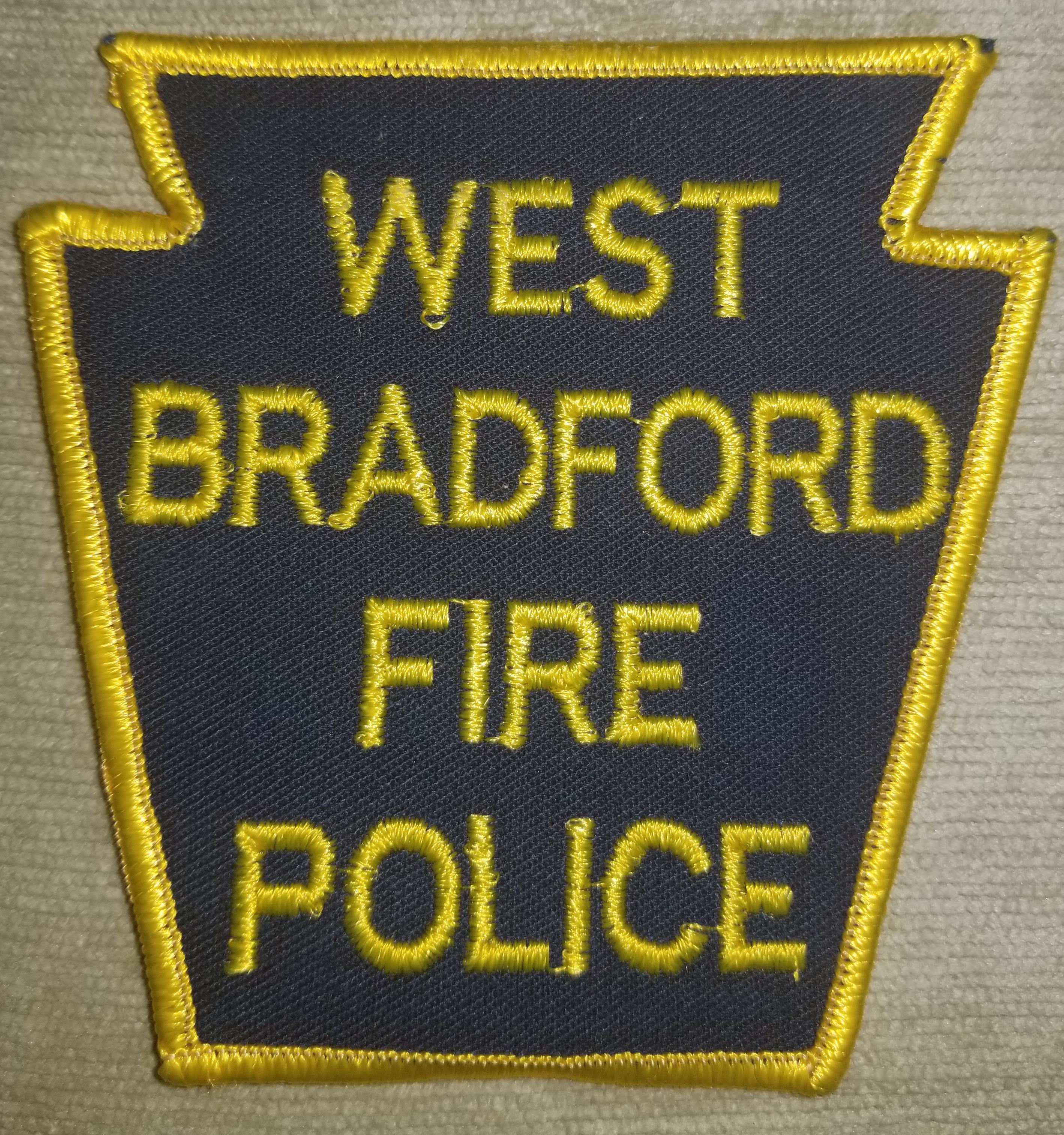 West Bradford Fire Police PA