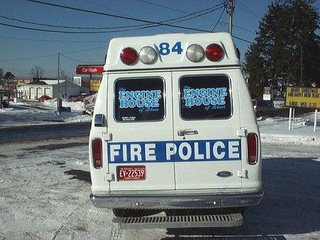 Geistown Volunteer Fire Company Fire Police Unit 84 2