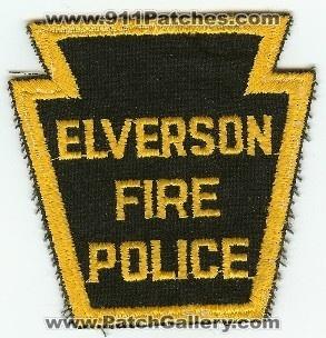 Elverson PA FIRE POLICE