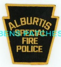 ALBURTIS SPECIAL FIRE POLICE PA