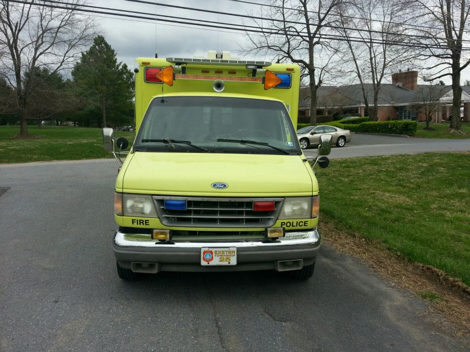 Exeter Township Traffic 25 3