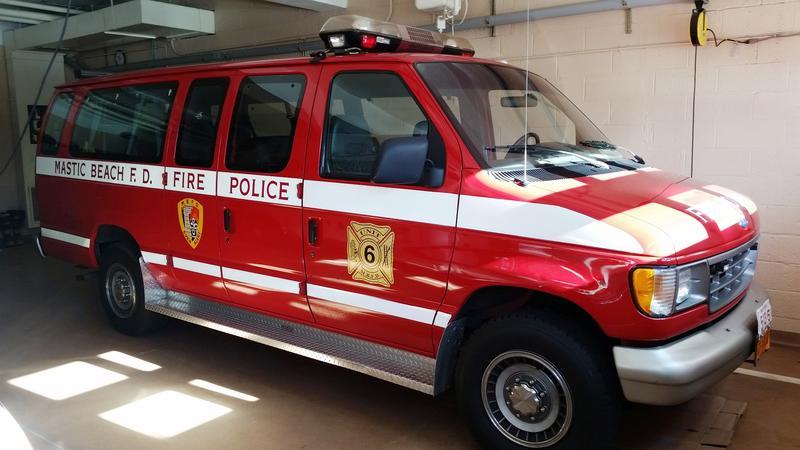 Mastic Beach F.D.  NY Fire Police 5-13-6
