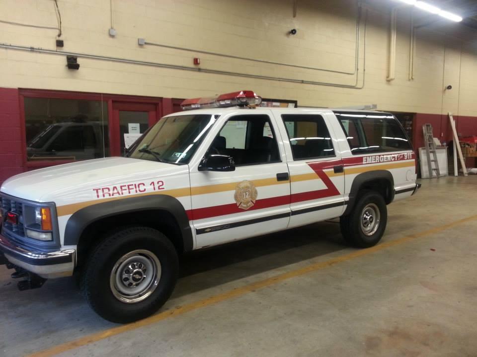 Newportville Fire Company 1 - Bucks County PA - Traffic 12