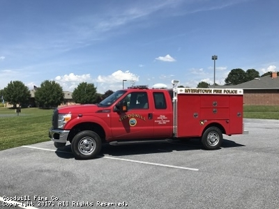 Goodwill Fire Co. Myerstown PA Fire Police Unit 1