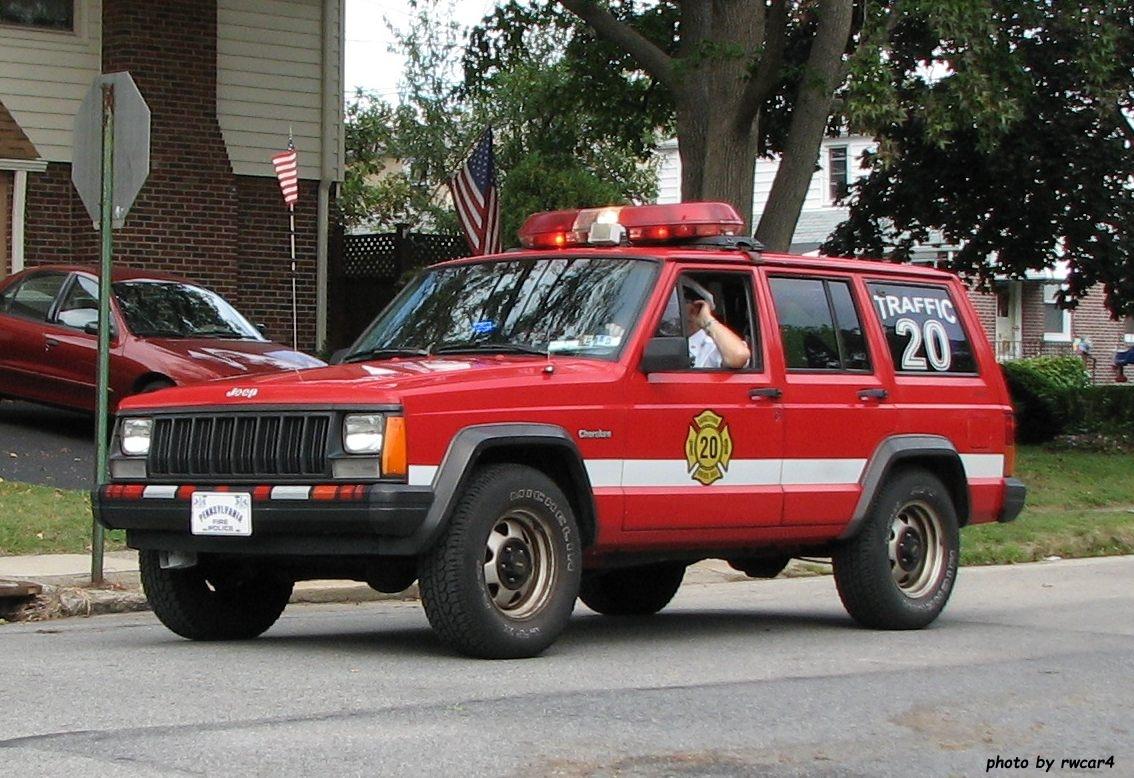Garrettford-Drexel Hill Fire PA Traffic 20 1