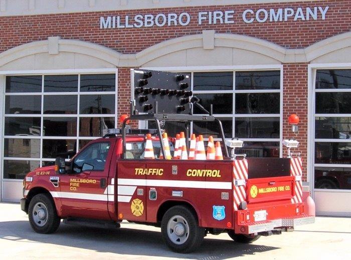 Millsboro Fire Co. Traffic Control 83-14  2