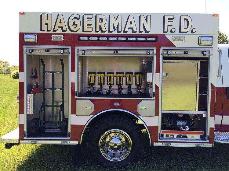 Hagerman FD East Patchogue NY Fire Police Rescue 7