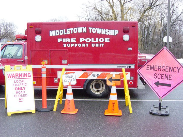 Middletown Fire Police 432 old 2