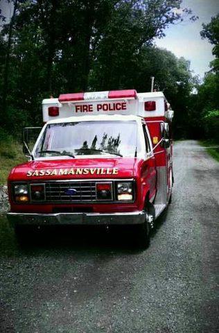 Sassmansville Fire Police Traffic 68