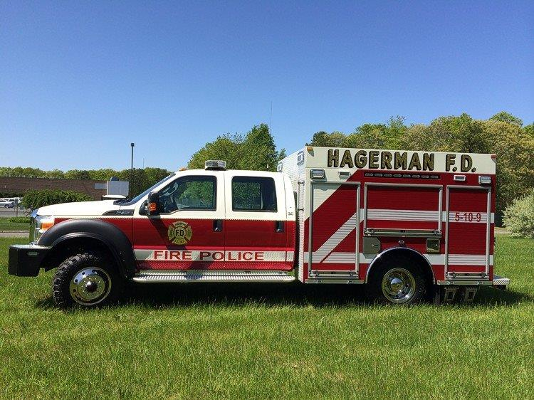 Hagerman FD East Patchogue NY Fire Police Rescue 2