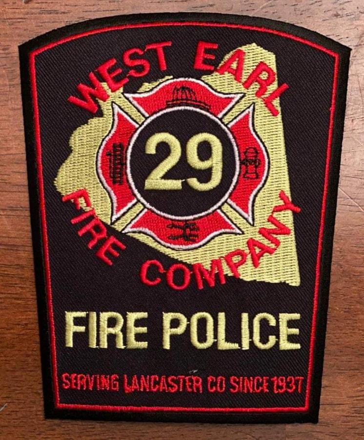West Earl Fire Company Fire Police PA 2.