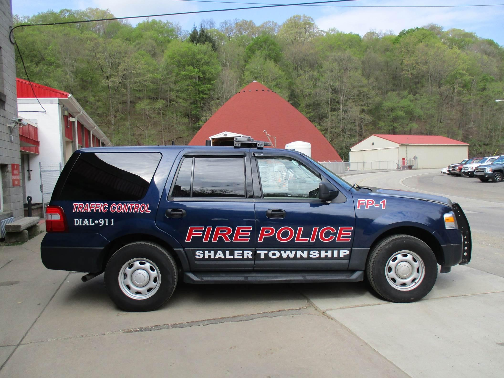 Shaler Township PA Fire Police FP-1
