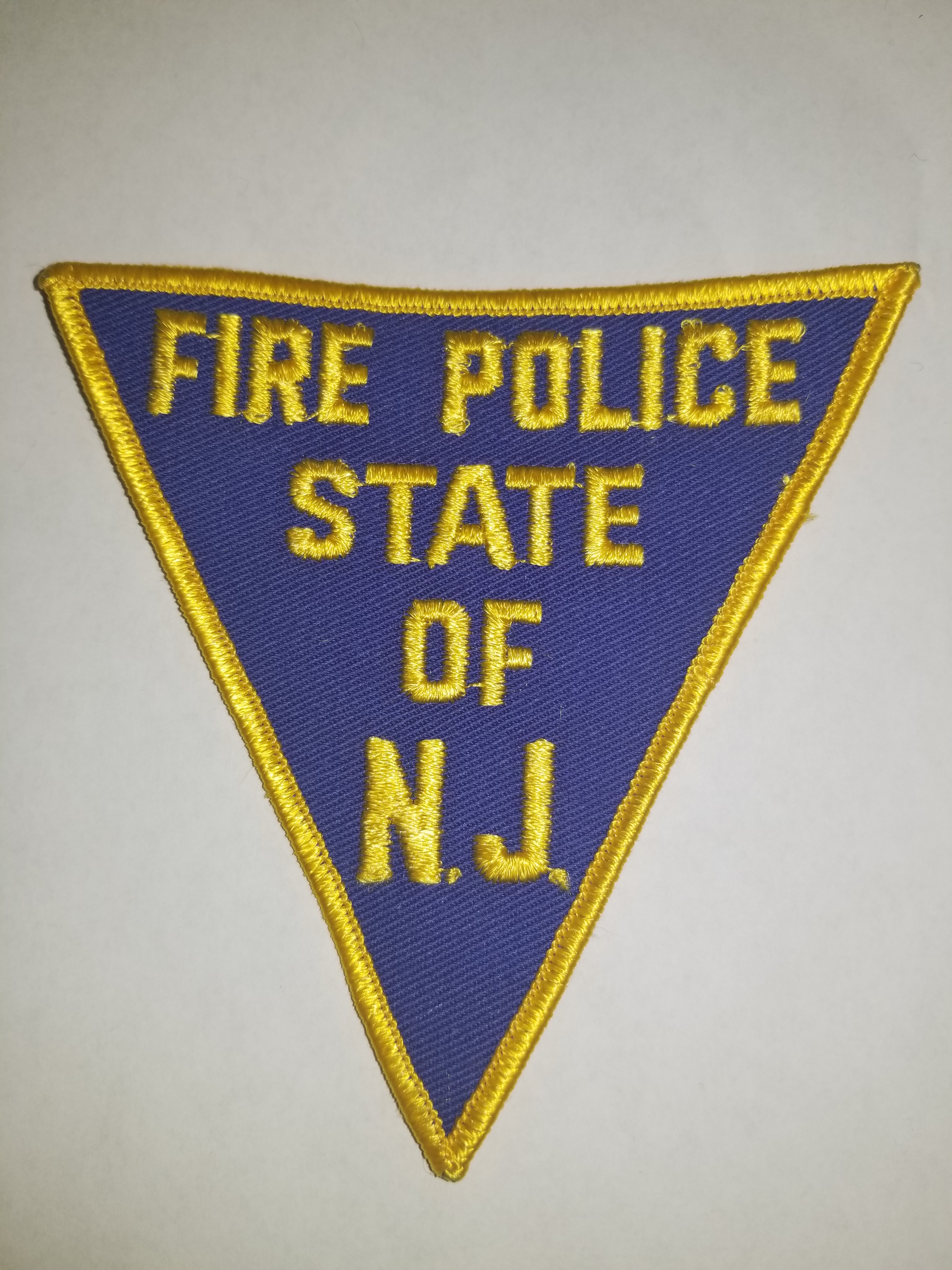 Fire Police State Of N.J. 1