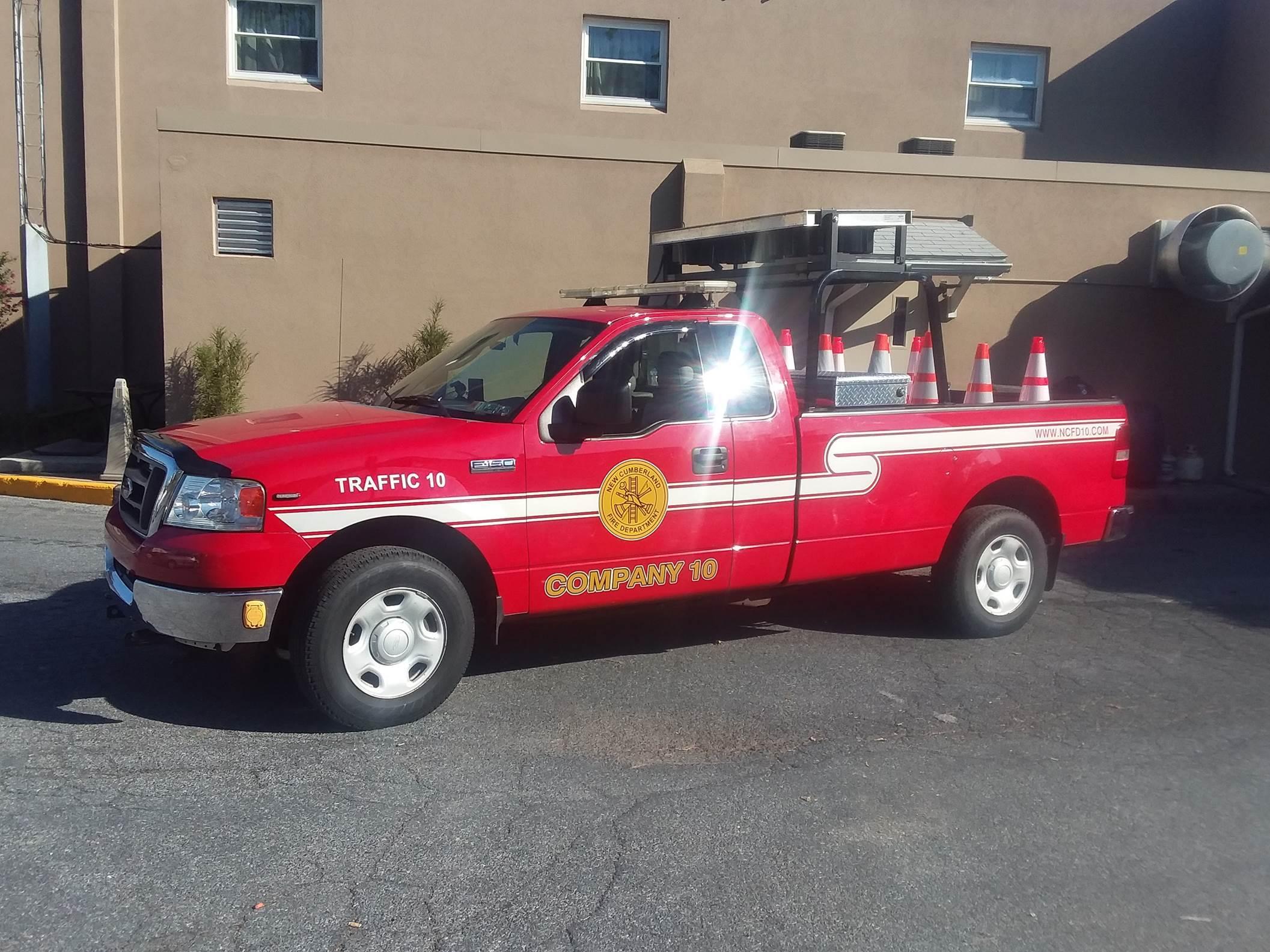 New Cumberland Fire Department PA Traffic 10