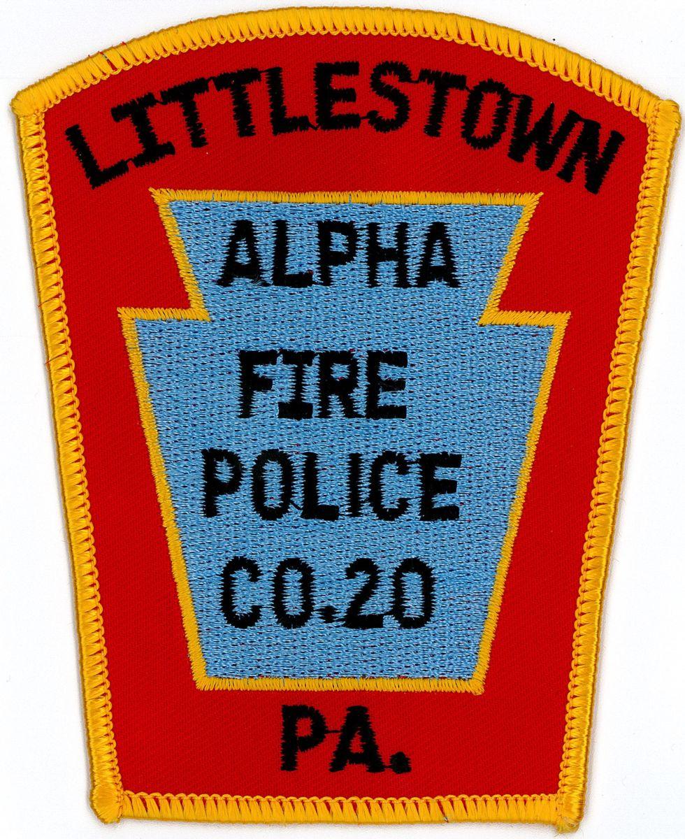 Alpha Fire Co. 1 Littlestown Adams County PA Fire Police