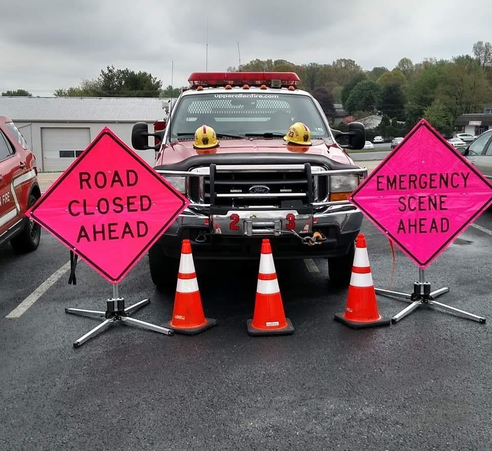Upper Allen Fire Department Mechanicsburg PA Traffic 23 2
