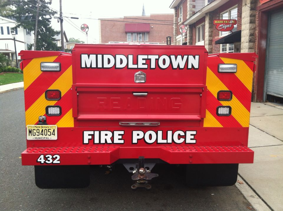 Middletown Fire Police 432 new 2