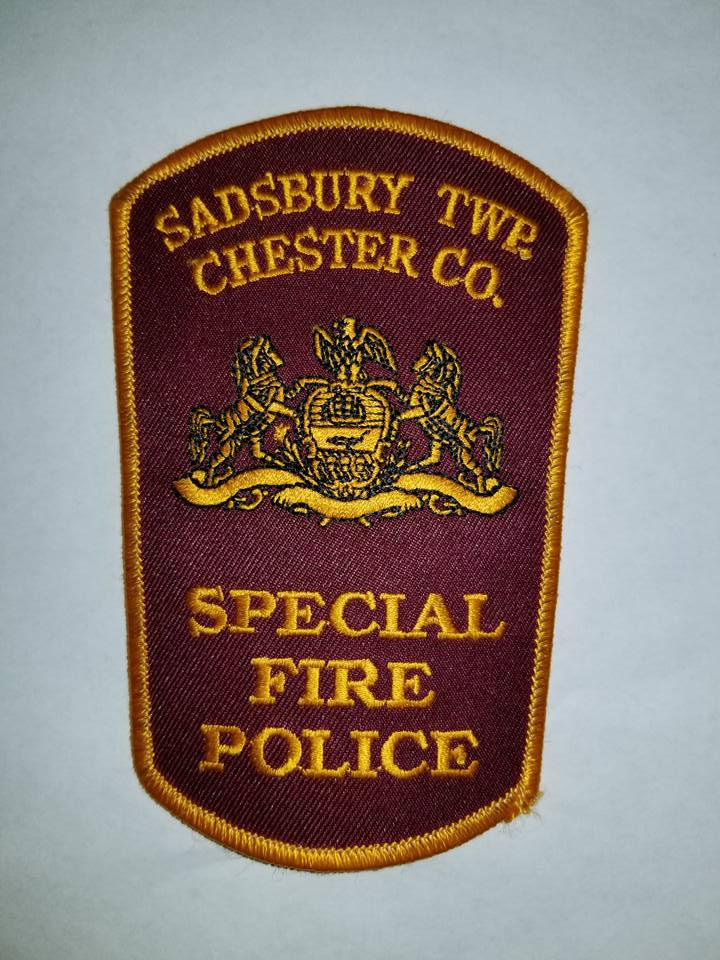 Sadsbury Township Chester County PA Special Fire Police