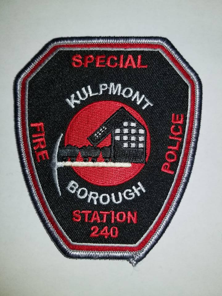 Kulpmont Borough PA Station 240 Special Fire Police