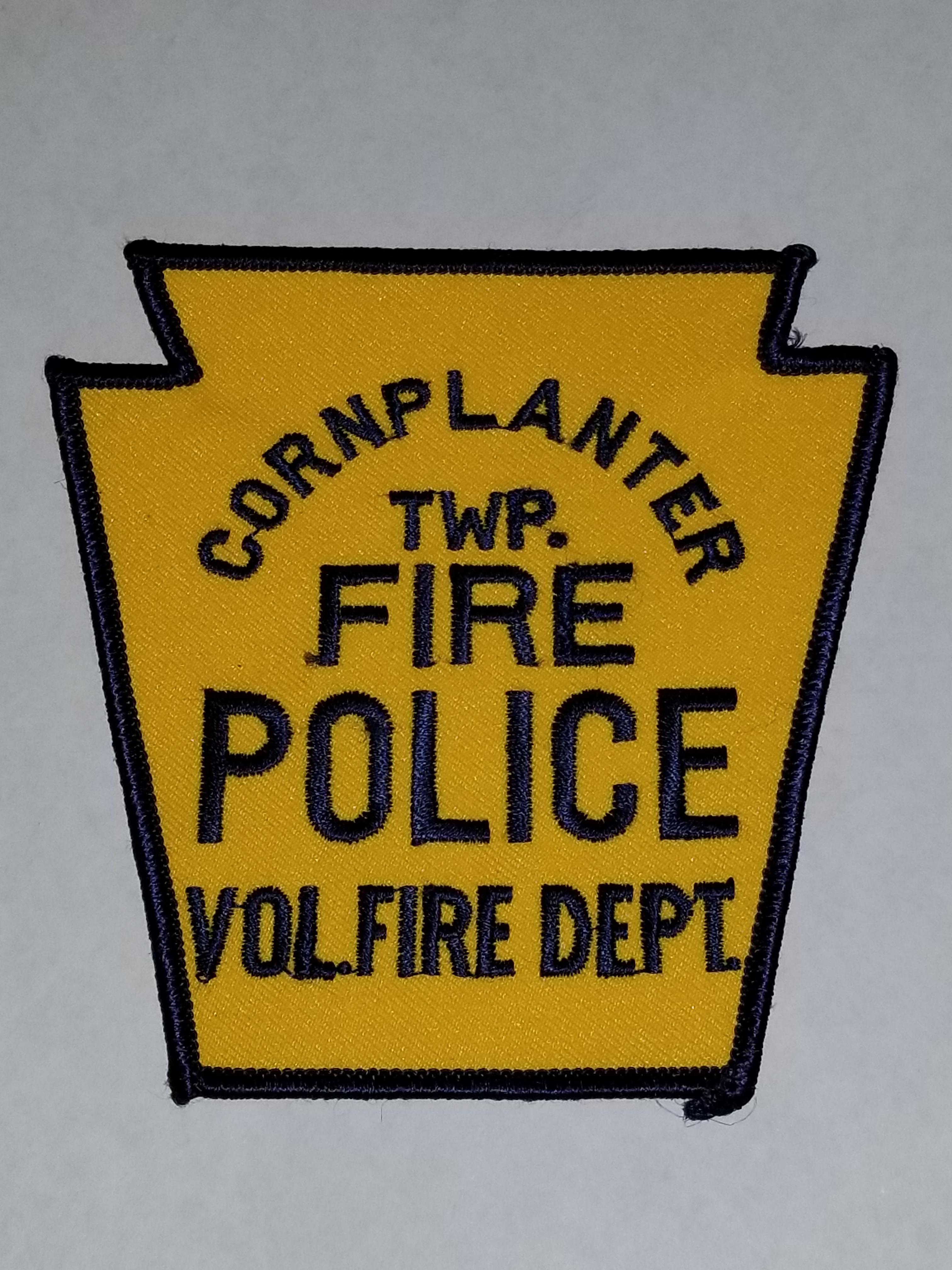 Corplanter Township PA Fire Police