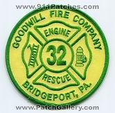 32 - Goodwill Fire Company Bridgeport 1.