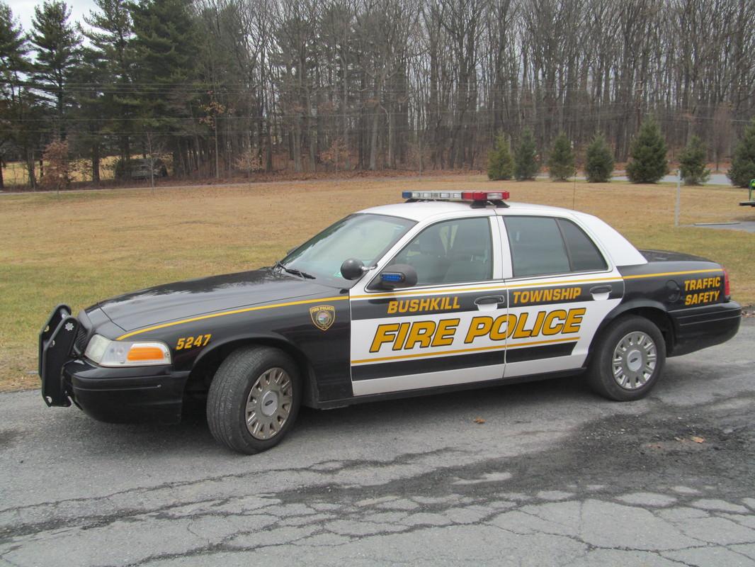 Bushkill Township Volunteer Fire Company - PA Fire Police Vehicle 5247